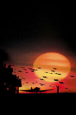 Tora! Tora! Tora! 11x17 Mini Poster silhoutte of World War 2 planes over sunset