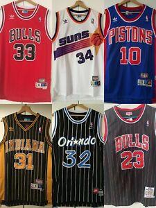 Michael Jordan #23 Chicago Bulls Red Classic Men's Jersey **###@@@