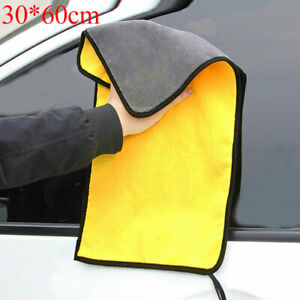 Super Soft Thickened Absorbent Car Wash Coral Velvet Towel Cleaning Drying Cloth