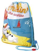 Girls Boys Official Disney Frozen Olaf Summer Beach School P.E Drawstring Bag