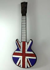 BRITISH GUITAR MIRROR UK Union Jack flag BRAND NEW! FREE SHIPPING