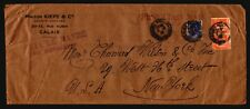 France 1936 Large SS Normande 1st Class Cover / Light Creasing - Z17494