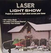 Christmas Laser Light Show With Timer - Indoor / Outdoor