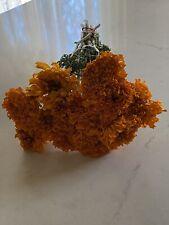 Dried Marigolds 12 Stems Marigold Flower Bunch Bouquet Bundle Fragrant