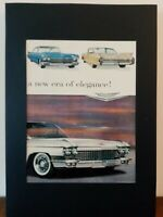 Pubblicità originale Cadillac del 1959 da rivista in passepartout