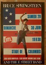 Publicité advert concert Lp album advertising BRUCE SPRINGSTEEN 1985 FRANCE tour
