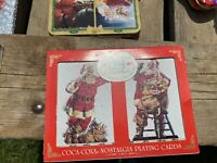 1994 coca cola playing cards Sealed Great condition