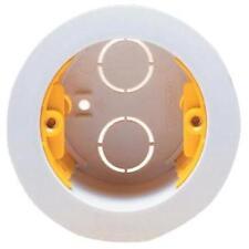 Circular Dry Lining Box 35 mm round Electrical Farideh Wall-Appleby