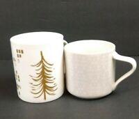Starbucks Coffee Mugs Mixed Set of Two 2014