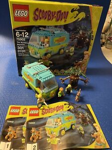 LEGO Scooby-Doo The Mystery Machine (75902) Complete Set With Manuals & Box