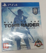 ** PEGI REGION 2 ~ Rise Of the TombRaider 20 Year Celebration ~ PS 4 ~ NEW AS-IS