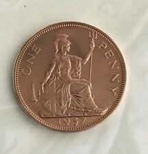 More details for 1937 george vi proof penny bronze • 9.45 g • ⌀ 30.8 mm km# 845, sp# 4114