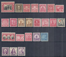 1929, 1930, 1931, 1932 US Commemorative w/ Definitive Year Set - MNH*