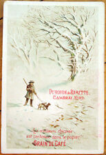 Coffee/Chicoree/Grain de Cafe 1890 Victorian Trade Card: Duroyon & Ramette - 3