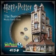 31734 HARRY POTTER THE BURROW WEASLEY HOME 415 PIECE PUZZLE 3D JIGSAW GAME