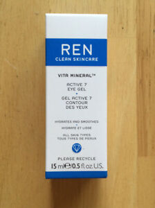 REN Clean Skincare Face Vita Mineral Active 7 Eye Gel 15ml