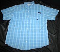 Columbia PFG Super Bonehead Omni-Shade Mens Short Sleeve Vented Shirt Size Large