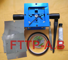 90mm BGA Rework Reballing Station + 13 pcs XBOX 360 PS3 PS4 Stencils templates