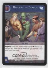 2007 VS System DC Legends Booster Pack Base #DCL-057 Reform the League Card 3v2