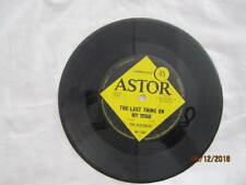 """THE VEJTABLES THE LAST THING ON MY MIND 45 SINGLE VINYL RECORD 7"""""""