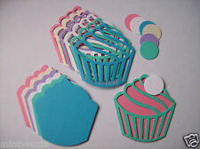 CRAFTROOM CLEAROUT  GORGEOUS LARGE LAYERING CUP CAKE die cuts - variety pack