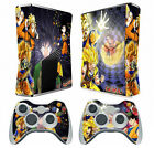 DRAGON BALL 015 Vinyl Decal Skin Sticker for Xbox360 slim and 2 controller skins