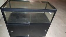 Glass Display Counter With Storage Cabinet For Jewellery Hobby Shop or Kiosk