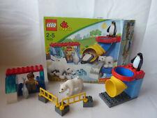 LEGO Duplo Polartiergehege Set 5633 - Zoo, Pinguin, Rutsche, Bär - kompl.+ OVP