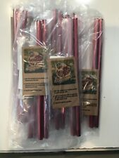 Metal straws. Strawberry BerryStraw Red 10 Packages of 2 (20)
