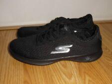 New Women's Skechers Goga 14500 Go Step Lite Dashing Walking Shoes Size 7 Black