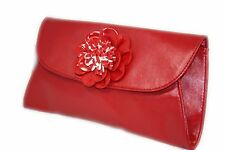 Multi Colors Satin Clutch Bags Glitter F Leather Patent Envelope Diamante Womens