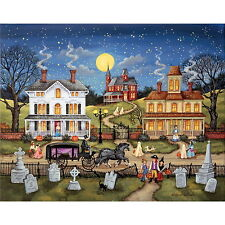 THE DARE by Bonnie White - MasterPieces 500 piece HALLOWEEN puzzle - NEW