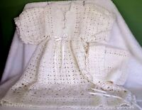 Christening Gown White Hand Made