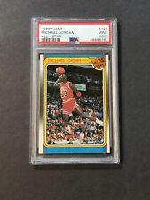 Michael Jordan 1988 Fleer All Star PSA 9 (OC) MINT ! #120  Beautiful Example