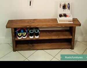 Quality Handmade Garden-Kitchen-Dinning Wooden Bench Sturdy and Solid/Shoe Rack