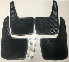 Sports Car Race And Rally Styling Flexible Mud Flaps - Quality Front & Rear Set