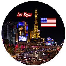 Las Vegas,USA - rotondo SOUVENIR CALAMITA FRIGO - Viste / BANDIERE /