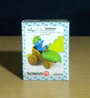 Smurfs 40264 Leaf Car Smurf Wild Rare Vintage Figure PVC Toy Lot Figurine Peyo