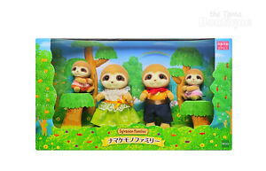 Sylvanian Families Calico Critters Sloth Family