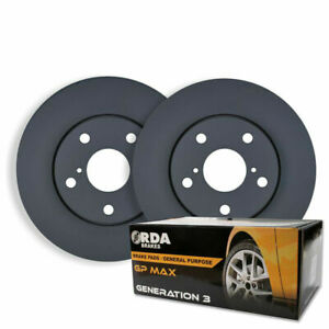 FRONT DISC BRAKE ROTORS + PADS for Toyota Caldina ST215R GT & GT-T 2.0L 1997-02