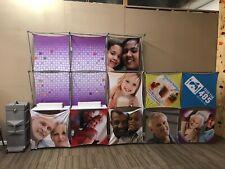 2 Xpressions Snap 8x8 & 5x5 Lights Shelfs display booth backdrop Pop-Up Generics