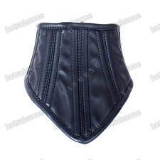 Soft PU Leather Neck Corset Collar Womens Neckcollar