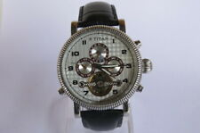 TITAN Winding Automatic Watch with Skelton Back Mint Condition Model No.9275SAB