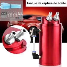 Universal Aluminio Tanque de Captura Aceite Respirador Oil Catch Tank 10mm*15mm
