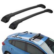 OEM 2018 Subaru Crosstrek Aero-Style Roof Rack Cross Bar Set NEW E361SFL400