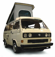 Vw T25 T3 Transporter 86-92 Just Kampers Westfalia Roof Canvas 3 Window Grey