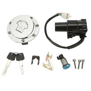 Fuel Gas Cap Ignition Switch Lock Key Set for Honda CBR600 CBR1000 CBR1100
