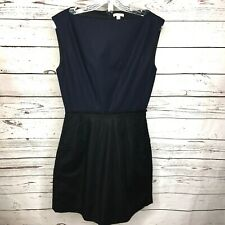 Gap Womens Sleeveless Dress Size 4 Tall Navy/Black