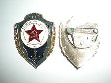 ORIGINAL SOVIET NAVY OUTSTANDING PROFICIENCY BADGE