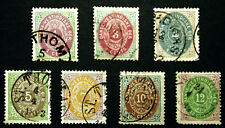 Classic US Danish West Indies Scott  #5-11 Nice VF Used Early Lot 1874-79